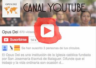 Canal del Opus Dei en Youtube