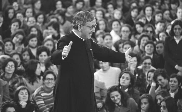 Saint Josemaria in Madrid