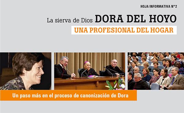 Una nueva hoja informativa sobre Dora del Hoyo