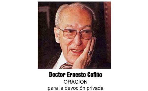 Pedir favores por intercesión de Ernesto Cofiño