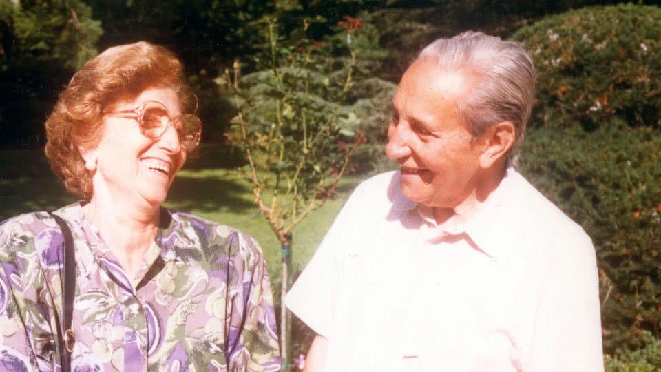 Tomás a Paquita Alvira