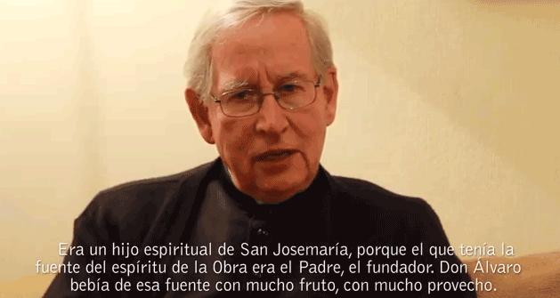 """""""Era un hijo espiritual de San Josemaría"""""""