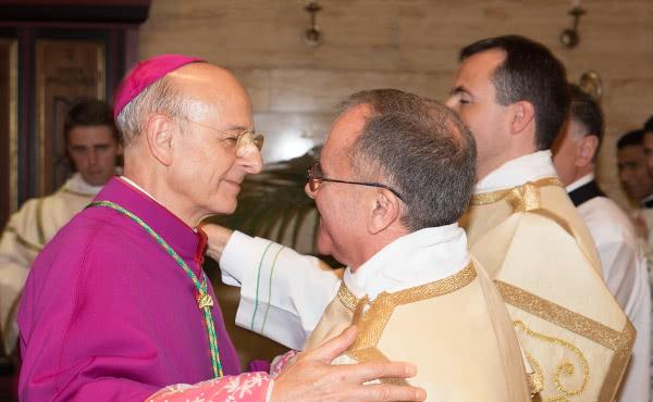 Fotografías de la ordenación de dos nuevos diáconos
