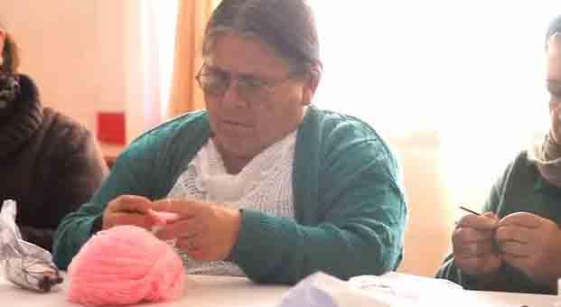 """Blanca Caro, alumna Taller Arenas: """"El amor de Dios lo he aprendido a conocer en este taller"""""""