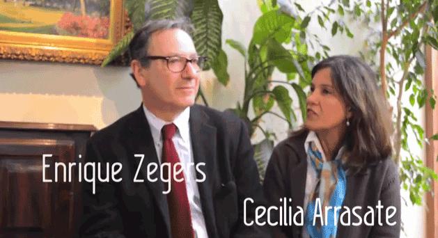 "Matrimonio Zegers Arrasate: ""Un encuentro entrañable"""