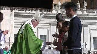 Pope Francis Inaugurates Synod for Young People