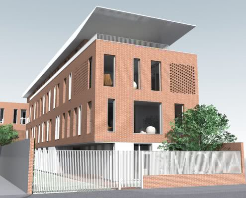 Proiectul Campus universitar Timona