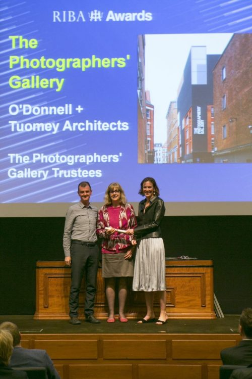 Photographers' Gallery wins RIBA London Regional Award
