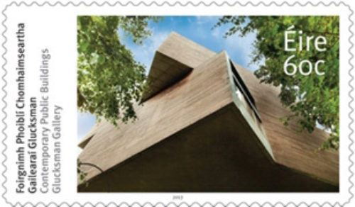 Glucksman Gallery commemorative stamp