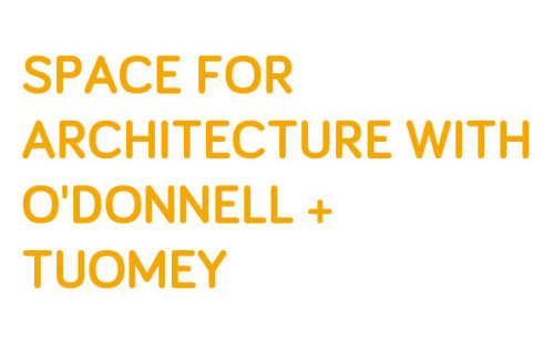 '​Space for Architecture' Lecture at the RIBA
