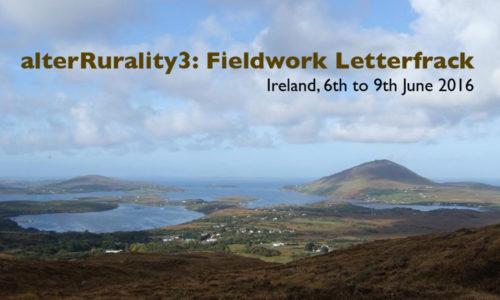 alterRurality3 Conference Keynote, Letterfrack, 06.06.2016
