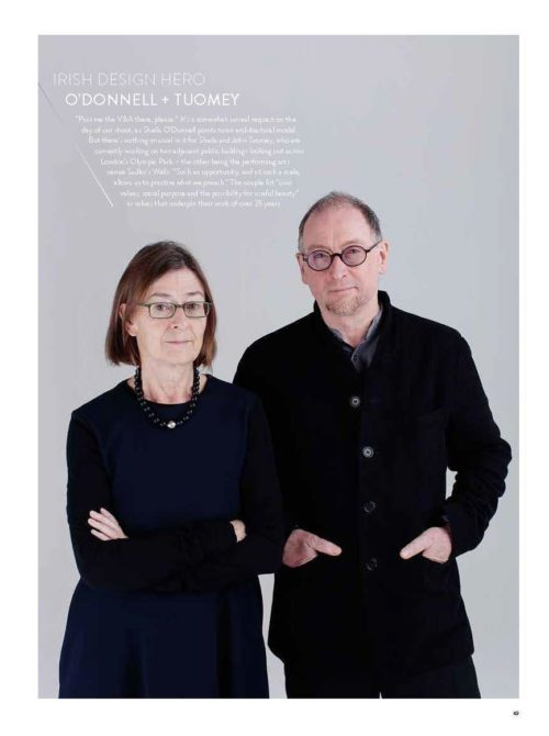 O'Donnell + Tuomey named Irish Design Hero