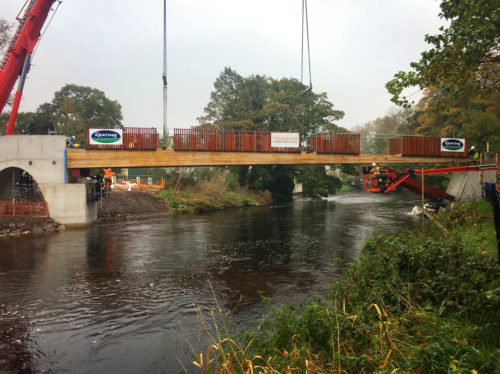 New bridge for UCC