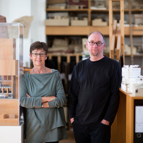 Sheila O'Donnell and John Tuomey: Outstanding Contribution to Architecture Award recipients