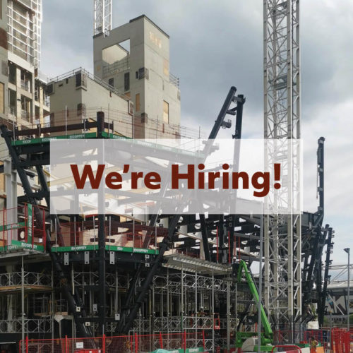 Current Vacancy: Project Architect (London)