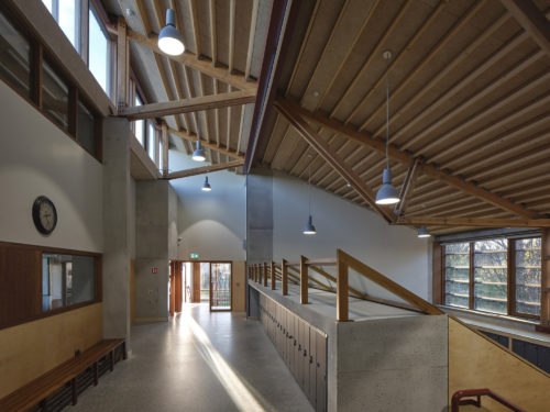 Sandford Park School wins Wood Awards Ireland