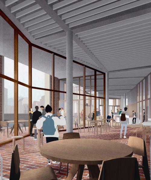 Willy Brandt Strasse Cafe Space