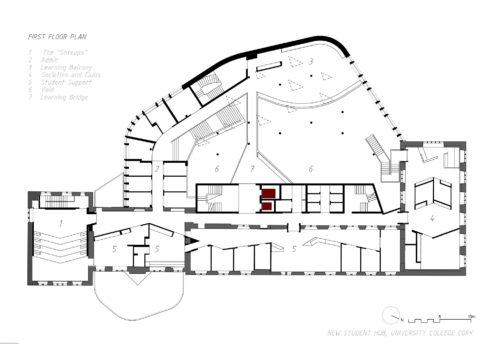 UCC Student Hub - First Floor