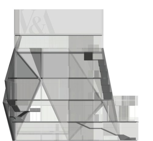 X-ray image of V&A East