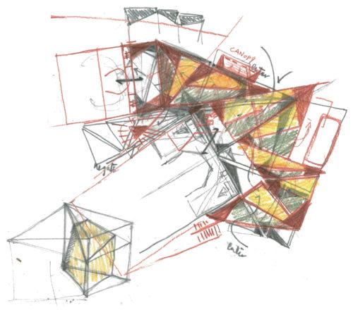 Folding Landscape / East and West, Biennale 2018