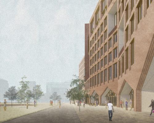 Gruner + Jahr headquarters: street view