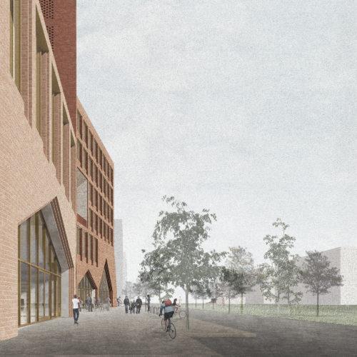 Gruner + Jahr headquarters: park cafe
