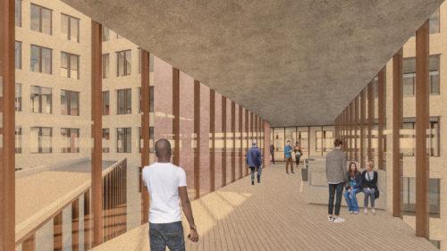 Gruner + Jahr headquarters: social bridges