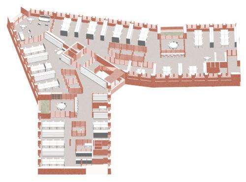 Gruner + Jahr headquarters: home zone diagram
