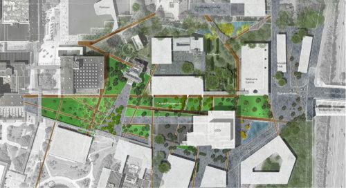 Central Promenade Landscape Plan