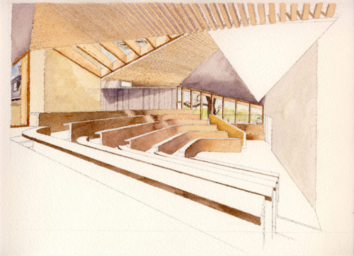 Worcester College Lecture Theatre and Kitchens