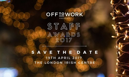 Off to Work Staff Awards 2017