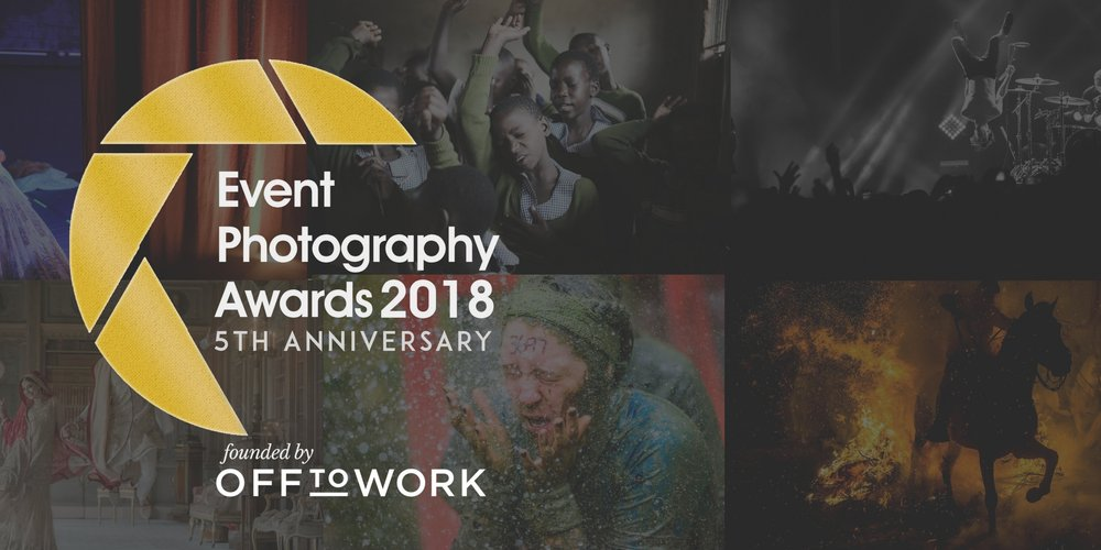 Event Photography Awards 2018 - entries now open!