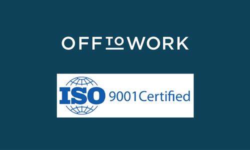 We are ISO:9001 accredited!