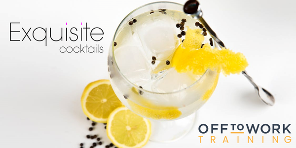 Basic Cocktail Training & Drinks Service - Off to Work Team Members