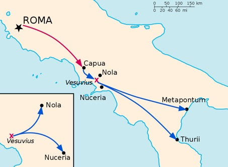 Spartaco e la guerra servile riassunto storia di roma - Spartaco roma ...