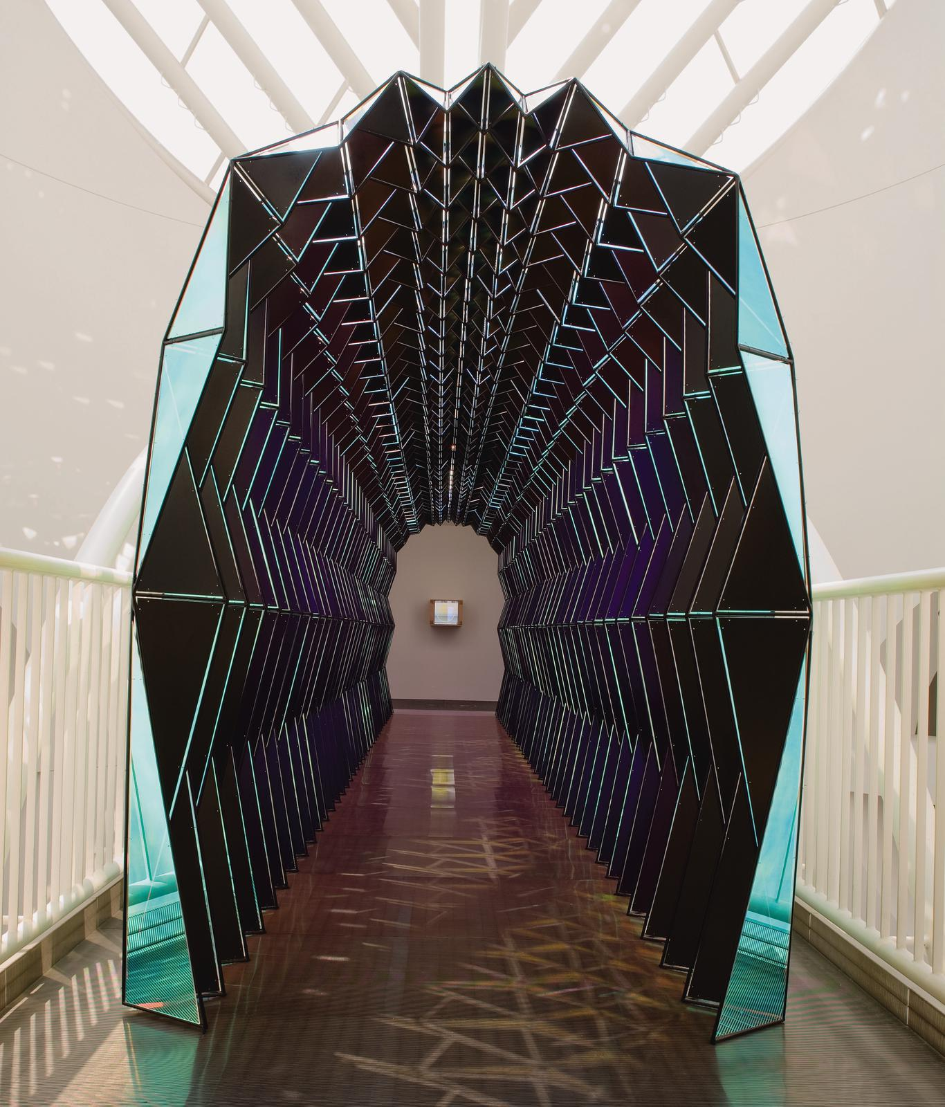 One Way Colour Tunnel Artwork Studio Olafur Eliasson