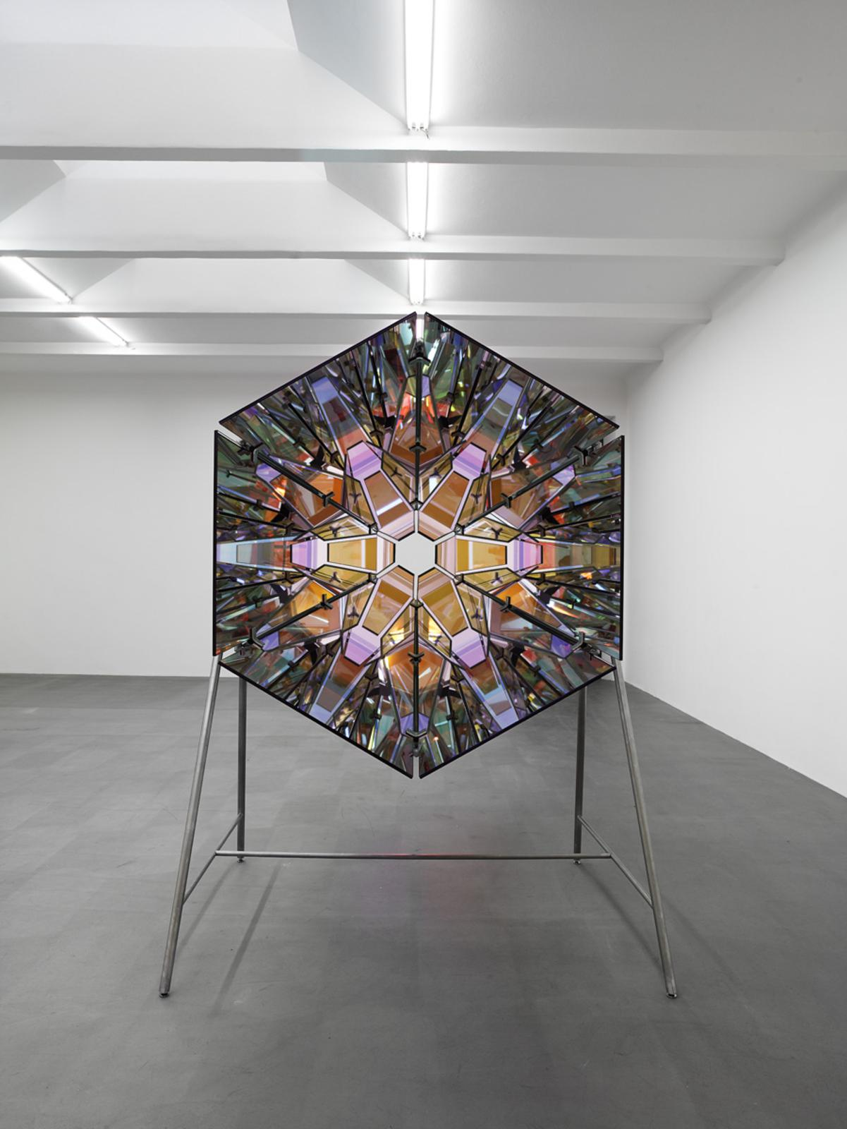 Red Double Kaleidoscope Artwork Studio Olafur Eliasson