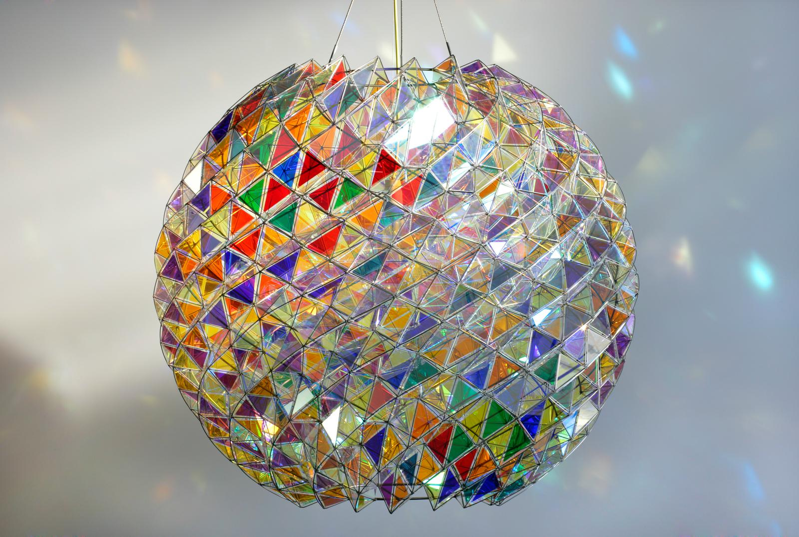 Berlin Colour Sphere Artwork Studio Olafur Eliasson