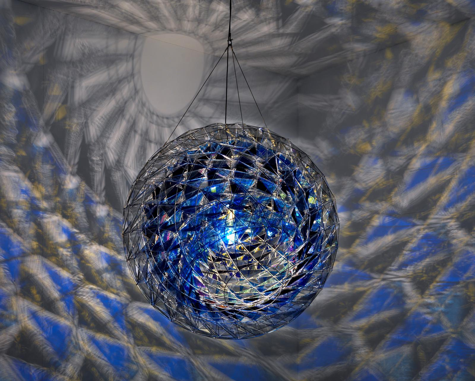 Cold Wind Sphere Artwork Studio Olafur Eliasson
