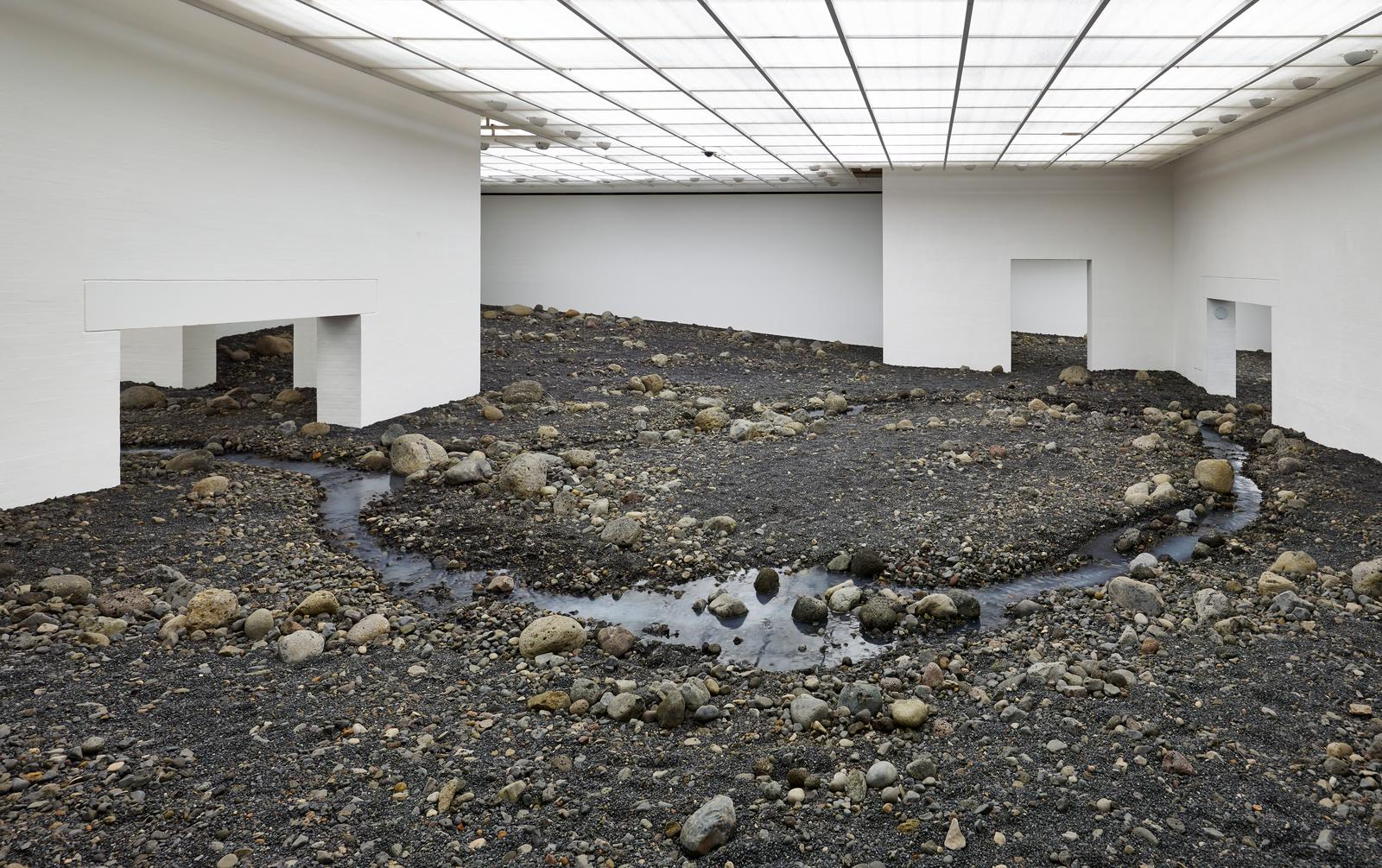 Riverbed • Exhibition • Studio Olafur Eliasson