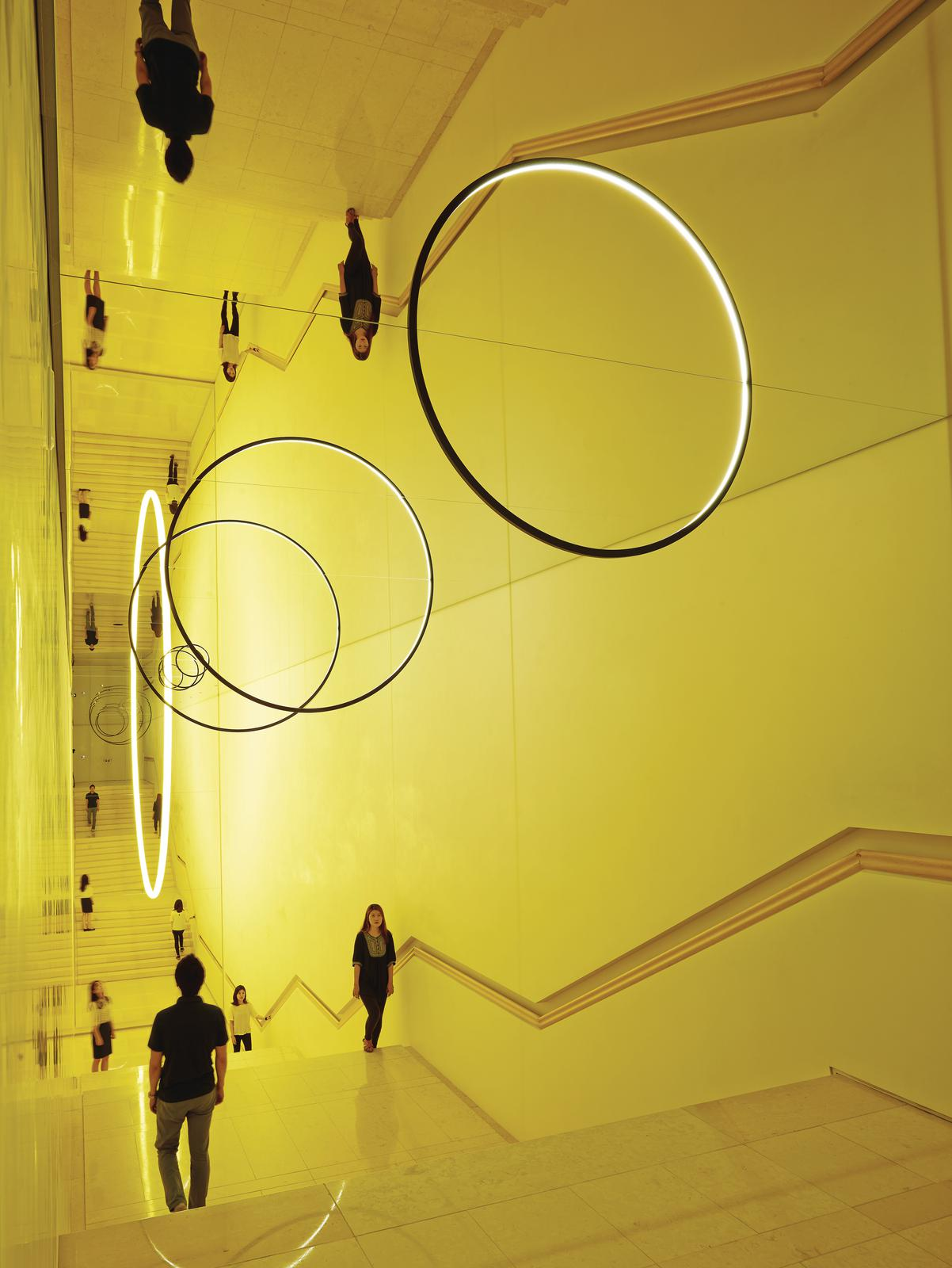 Gravity stairs • Artwork • Studio Olafur Eliasson