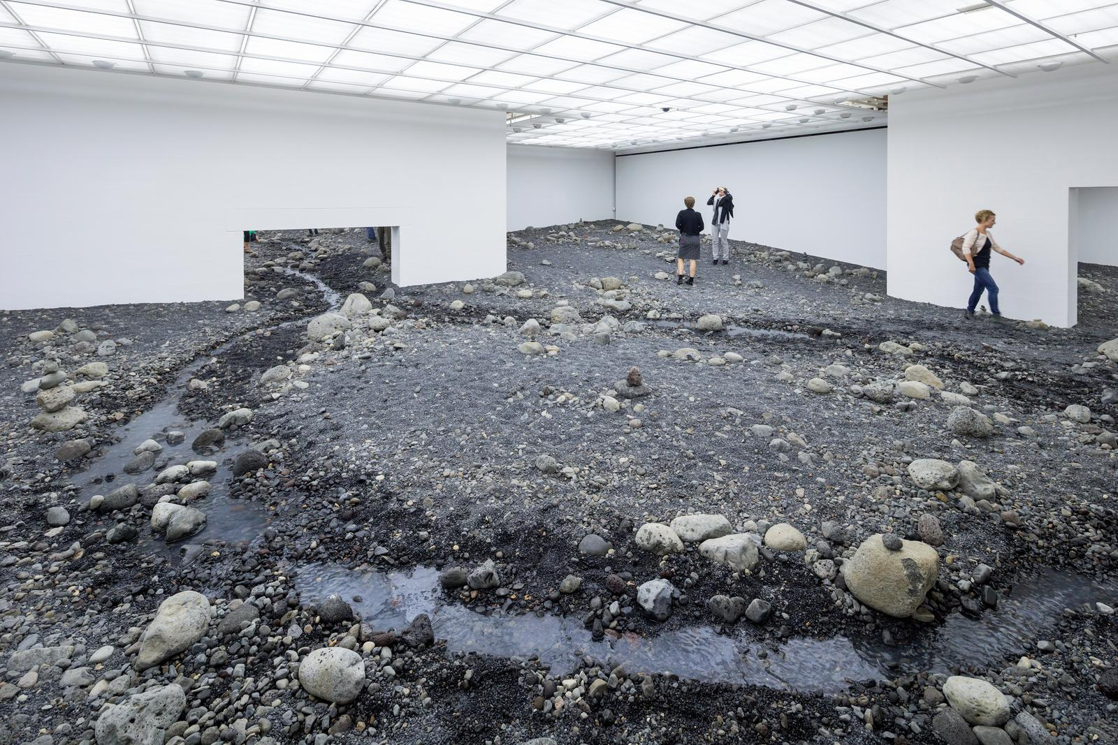 Riverbed Artwork Studio Olafur Eliasson