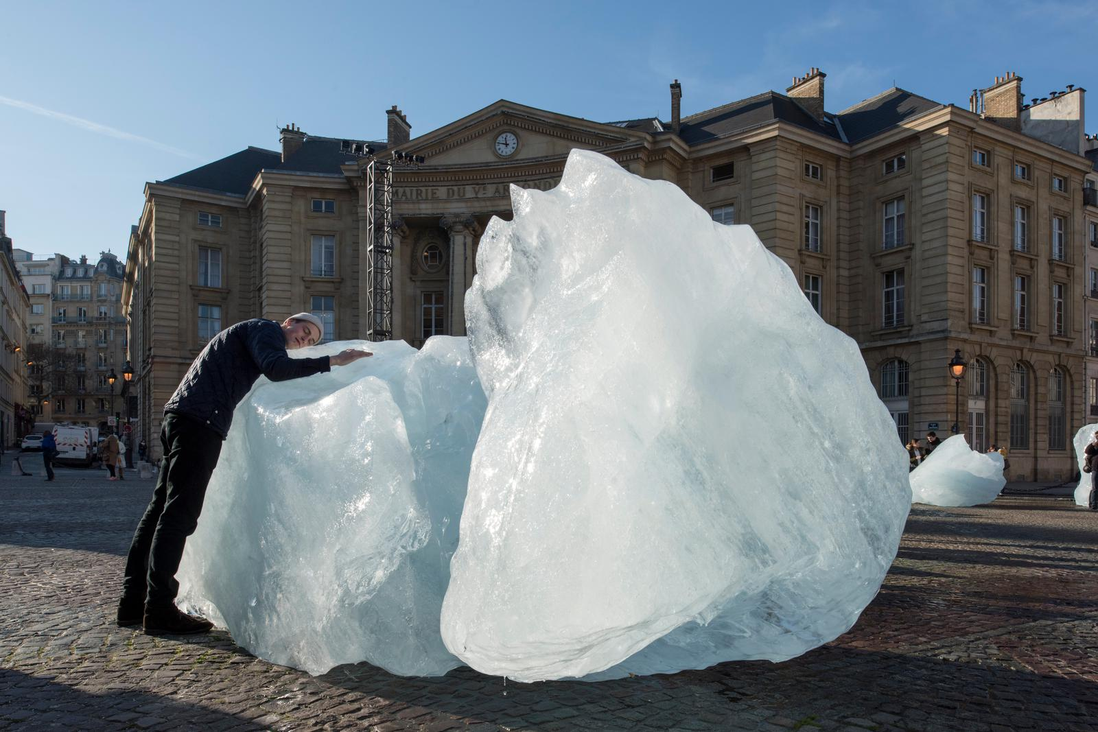 Ice Watch • Artwork • Studio Olafur Eliasson