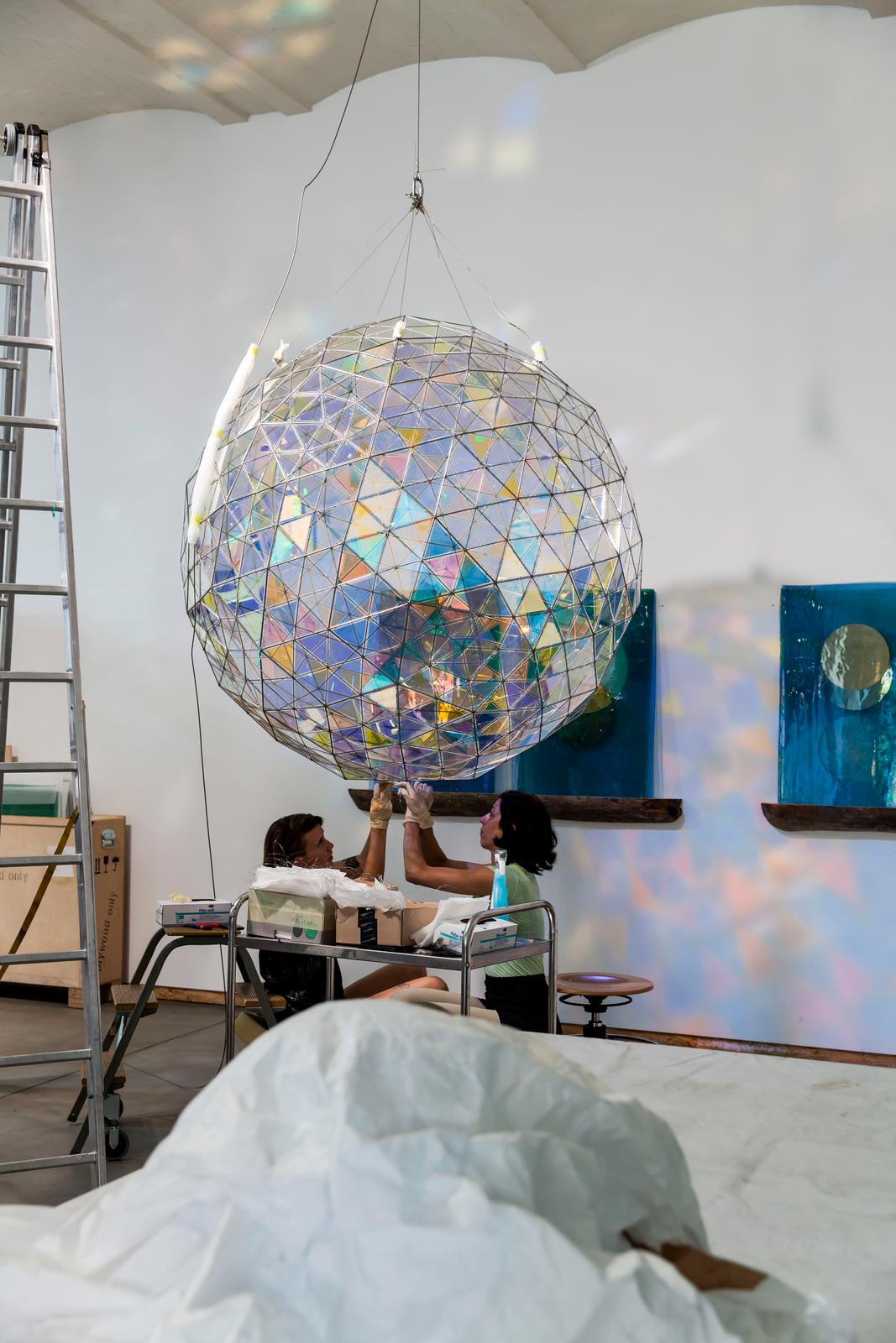Care And Power Sphere Artwork Studio Olafur Eliasson