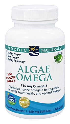 Nordic Naturals – Algae Omega, 650mg (120 capsules)