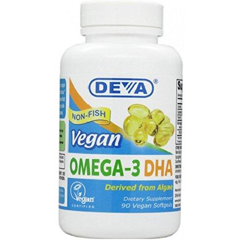 DEVA – Vegan Omega 3 DHA (90 Softgels)