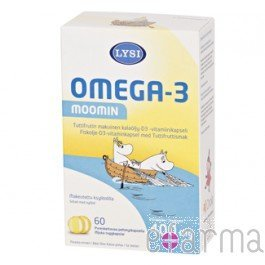 Fish-oil-omega-3-Family-Tutti-frutti-flavor-60-capsules-Lysis-0