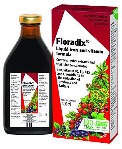 Floradix – Iron + Herbs Liquid (17oz, 500 ml)