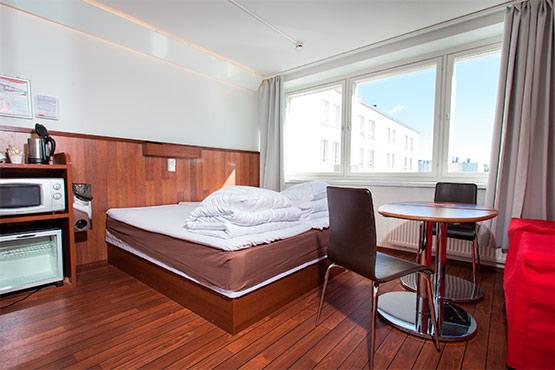 Jyväskylän hotelli jopa neljälle hengelle