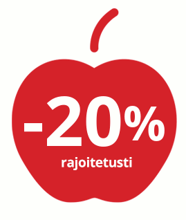 -20% rajoitetusti
